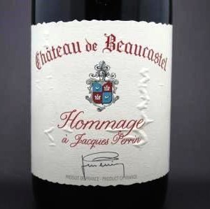 chateauneuf du pape hommage jacques perrin beaucastel