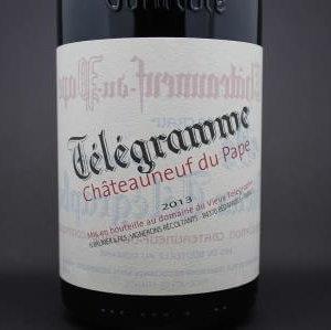 Chateauneuf du Pape Télégramme Vieux Télégraphe 1