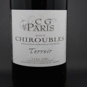 Chiroubles Paris