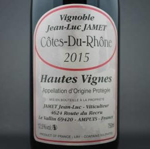 Côtes du Rhône Jamet
