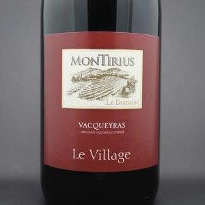 Vacqueyras Le village Montirius 1