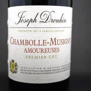 chambolle musigny les amoureuses drouhin