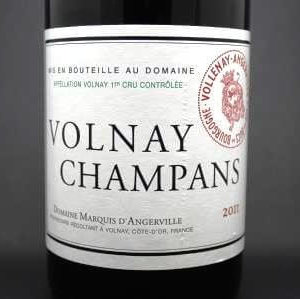 volnay champans marquis d'angerville