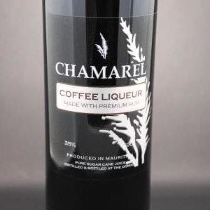 liqueur rhum chamarel café
