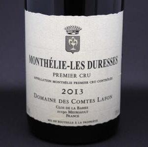 Monthélie Les Duresses Comte Lafon