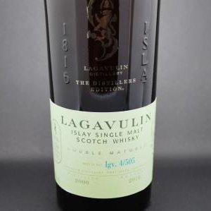 whisky lagavulin distillers edition islay ecosse