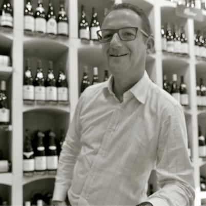 Frédéric Blanc, oenologue passionné