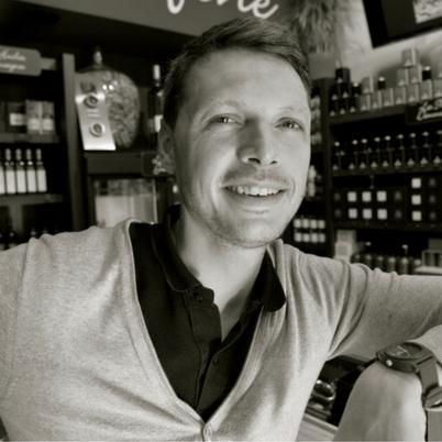 Alexandre Petit, passionné de vin