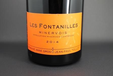 Minervois Les Fontanilles Anne Gros 1