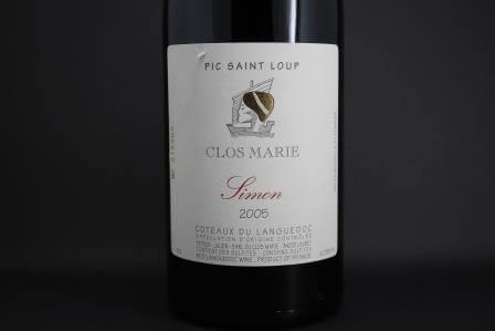 Pic St Loup Clos Marie Simon