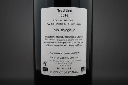 Côtes du Rhône Domaine du Séminaire 2