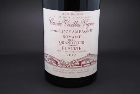 fleurie champagne dutraive