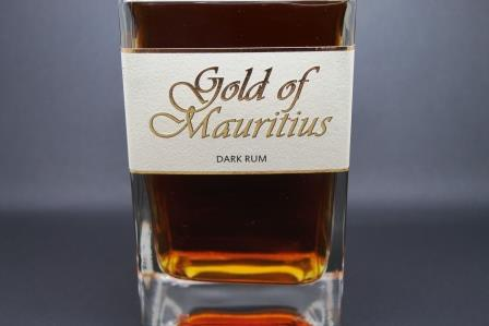 rhum dark gold of mauritius