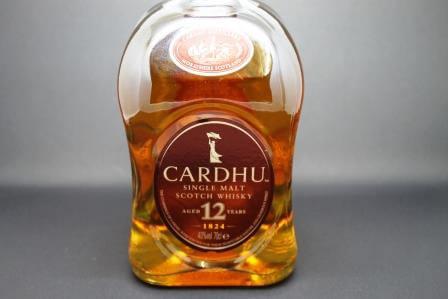 whisky cardhu 12 ans ecosse