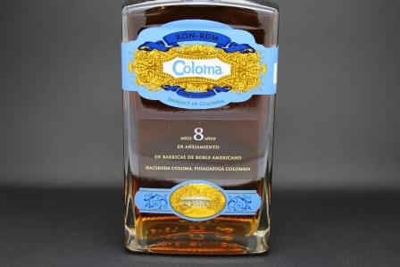 rhum coloma 8 ans colombie