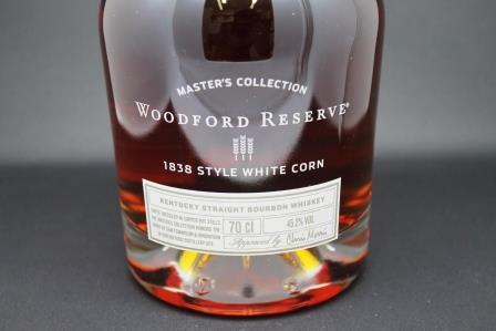 whisky woodford style white corn