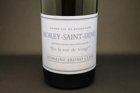 morey st denis blanc en la rue de vergy bruno clair