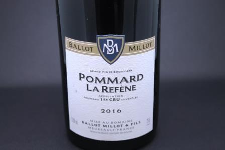 Pommard 1er cru La Refène Ballot Millot