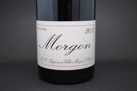 morgon marcel lapierre beaujolais
