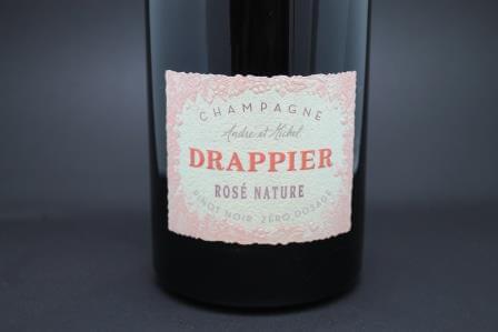 Drappier Rosé Nature Zéro dosage