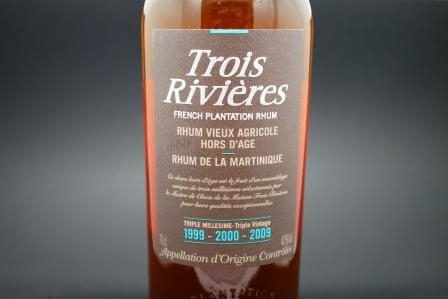 Rhum Trois Rivières Triple Millésime