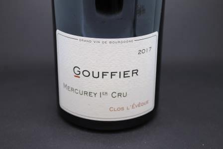 Mercurey 1er cru clos l'eveque Gouffier