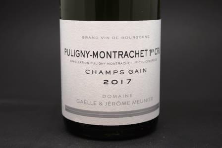 Puligny-Montrachet 1er cru Champs Gain Meunier